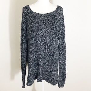 GAP open knit pullover sweater